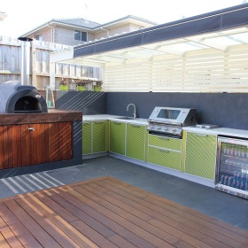 Featured kitchens kastell outdoor for Outdoor kitchen designs australia