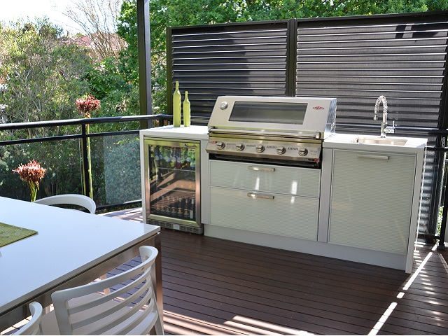 Outdoor kitchens custom designed and built in kitchen for Outdoor kitchen australia