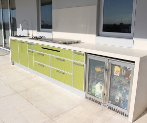 Outdoor kitchens custom designed and built in kitchen for Kitchen designs newcastle nsw