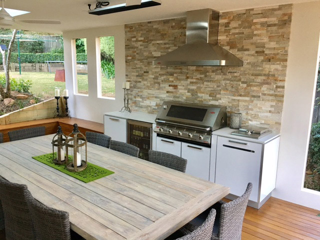 Outdoor Kitchens Custom Designed And, Weatherproof Outdoor Kitchen Cabinets Perth